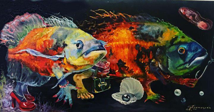 Fish Loves #PRADA - Alina Kuznecova Freedom