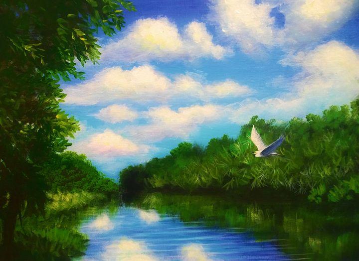 elcom waterway  florida - l&l art