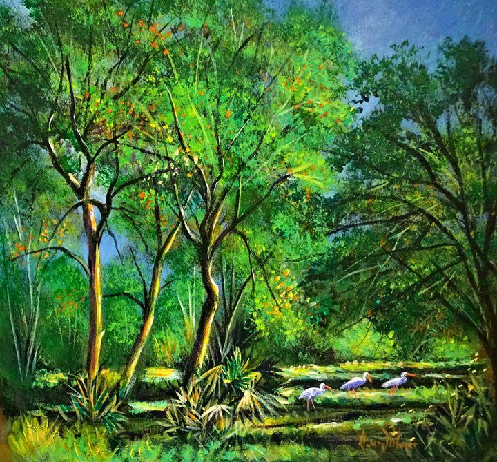 Florida landscape - l&l art