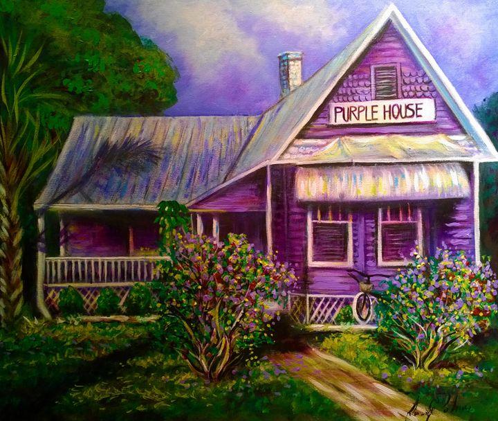punta gorda purple house - l&l art