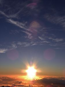 Sacred Sunset at Mt. Haleakala