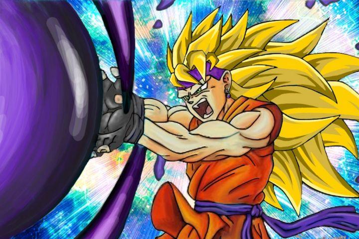Dragonball personalised character - Jordyn Wood anime