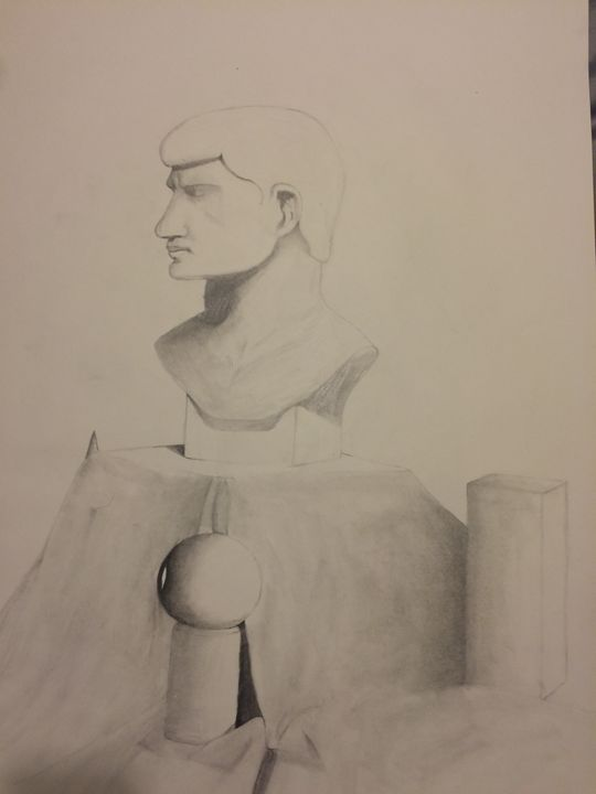 Bust Drawing - Dalton's Gallery