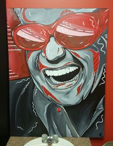 RAY CHARLES BY REDINK
