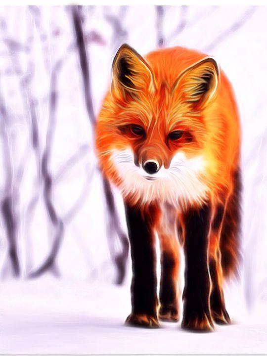Red Fox - Karen Scotting Designs