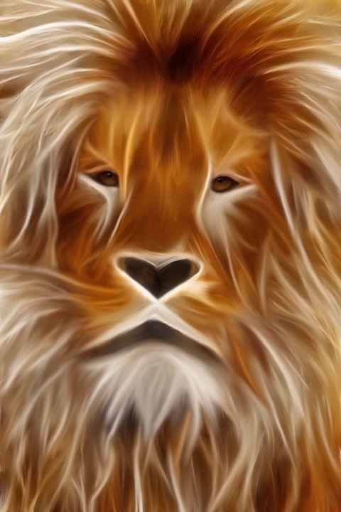 Strength of the Lion - Karen Scotting Designs