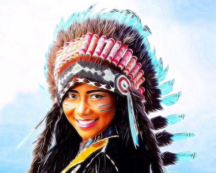 Native American - Karen Scotting Designs