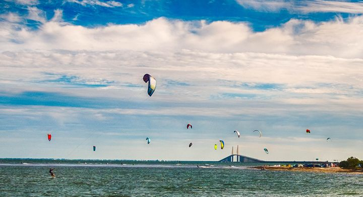 Afternoon Kite surfing 2.1 - Michael O'Leary