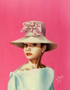 Believe in Pink , Audrey Hepburn