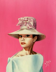 Believe in Pink , Audrey Hepburn - SAMARTISAN