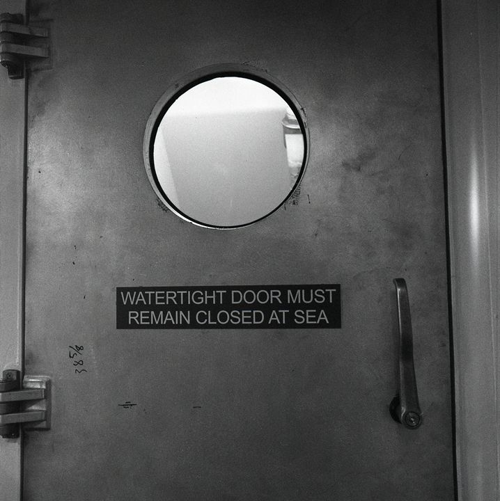 Watertight Door - Lucia Rollow Photography