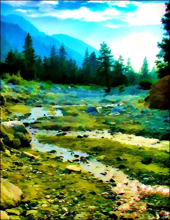 Forest Falls Streambed - Dennis Fehler - Gallery