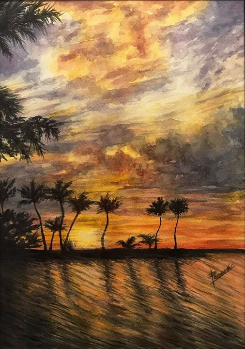 Sunset - Peneva Art