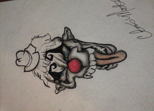 me clown - Clint art work