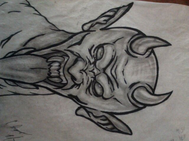 Mr. Evil - Clint art work