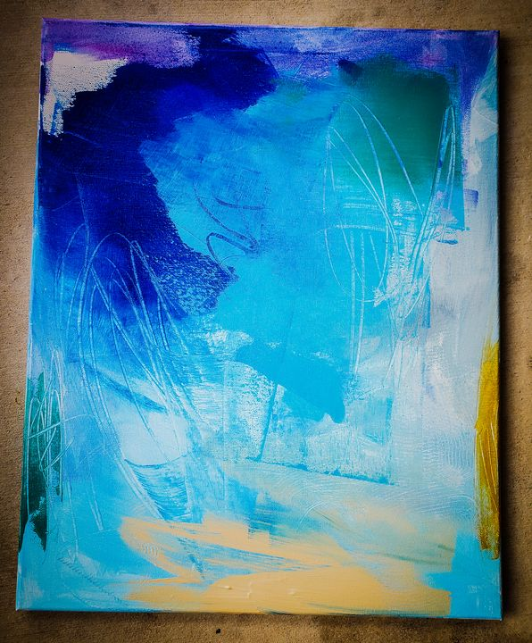 Abstract Painting Multicolor 5 - Urbanskilled