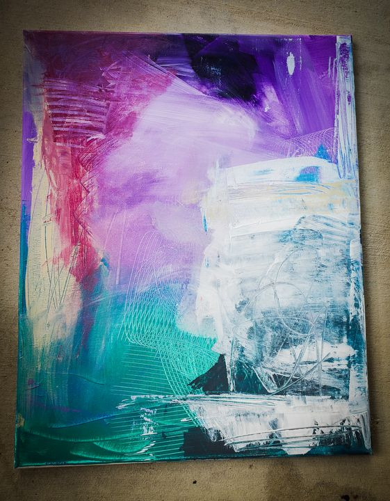 Abstract Painting Multicolor 3 - Urbanskilled
