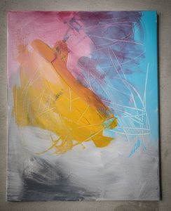 Abstract Painting Multicolor 1