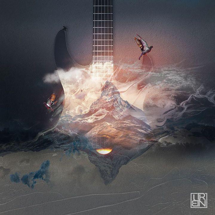 Guitar Skies - Urbanskilled