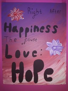 Love, Hope, and Happiness