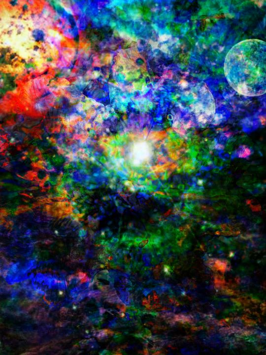 Cosmic Man - Marcus Schuster