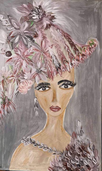Flower hat - JArel
