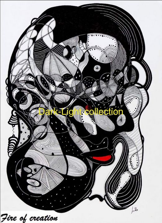 """Fire of creation"" - Melitta Dobrescu"