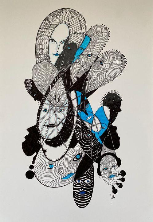 """Face to face"" - Melitta Dobrescu"