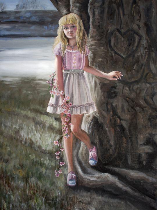 Self Portrait - Kaitlyn's Art