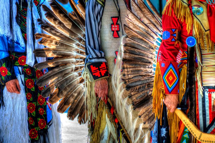 Pow Wow Grand Entrance - John McEvoy Photographer