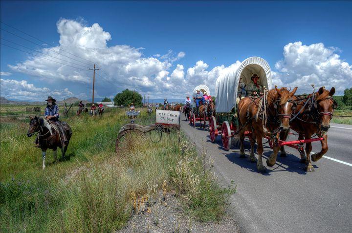 Covered Wagon Days - John McEvoy Photographer