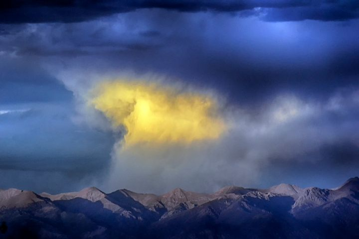 Sangre de Cristos from Elephant Rock - John McEvoy Photographer