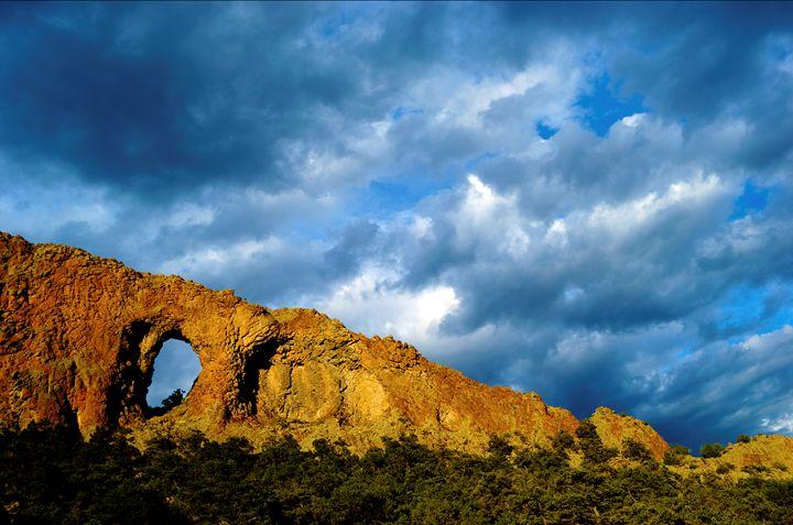 Natural Arch north of Del Norte, CO - John McEvoy Photographer