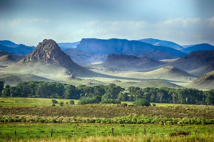 Del Norte, Colo., Indian Head Peak - John McEvoy Photographer