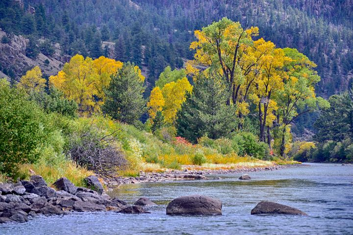 The Rio Grande Fall Splendor - John McEvoy Photographer