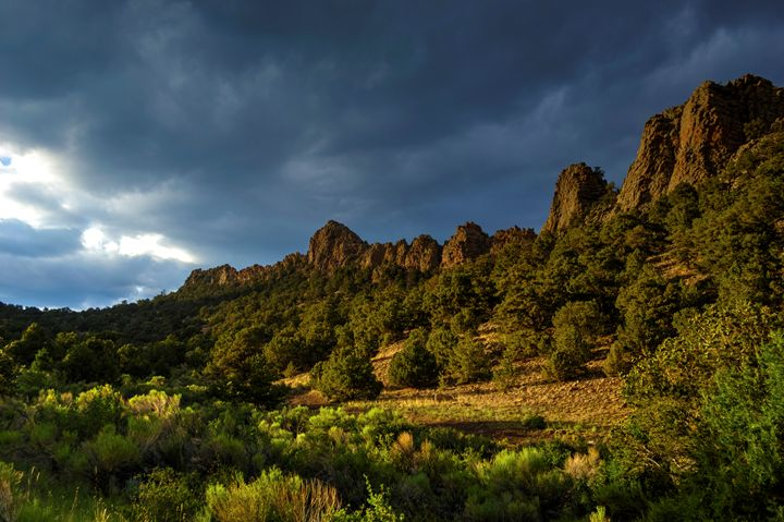 Near Natural Arch north of Del Norte - John McEvoy Photographer