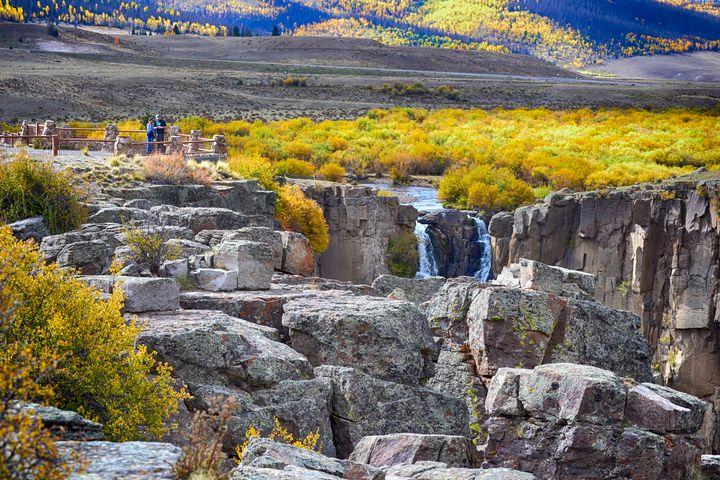 Overlook North Clear Creek Falls - John McEvoy Photographer