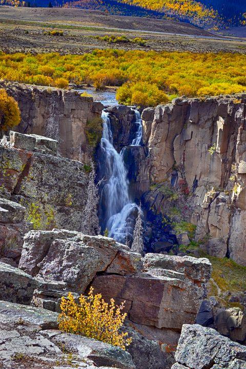 North Clear Creek Falls near Creede - John McEvoy Photographer