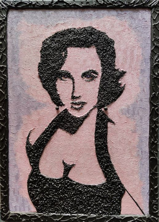 Elizabeth Taylor - VD art Italia