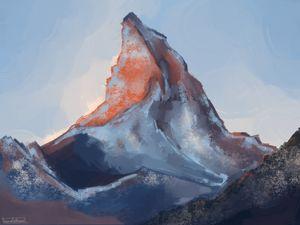 Mountain Photo Study