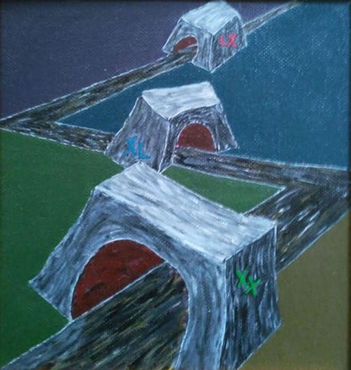 Life zigzag - Chkotoua Gallery