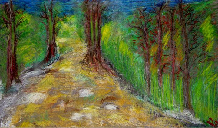 A pastel road to nowhere - Chkotoua Gallery