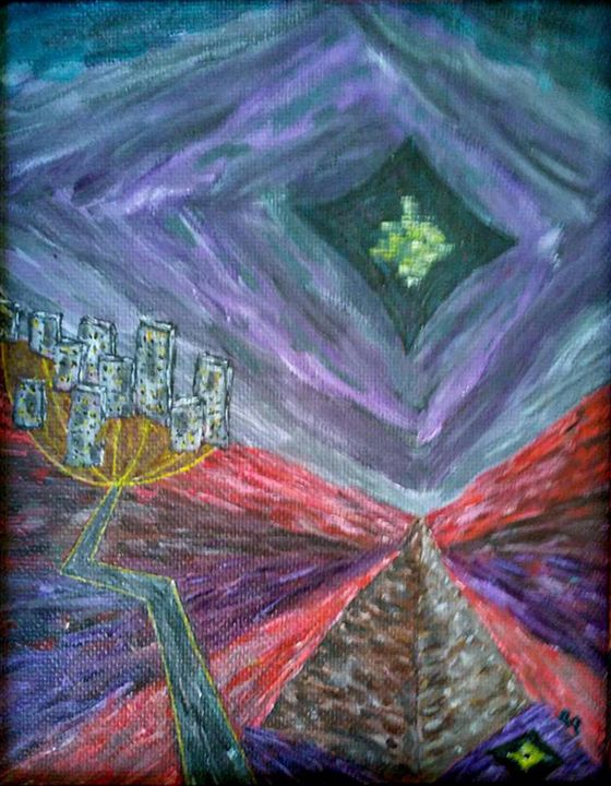 Night in Cairo - Chkotoua Gallery