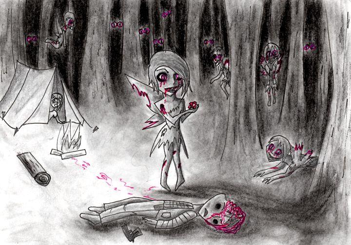 Attack of the Zombie Fairies - Caroline P. Martin