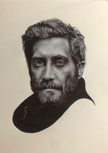 Jake Gyllenhaal pen art