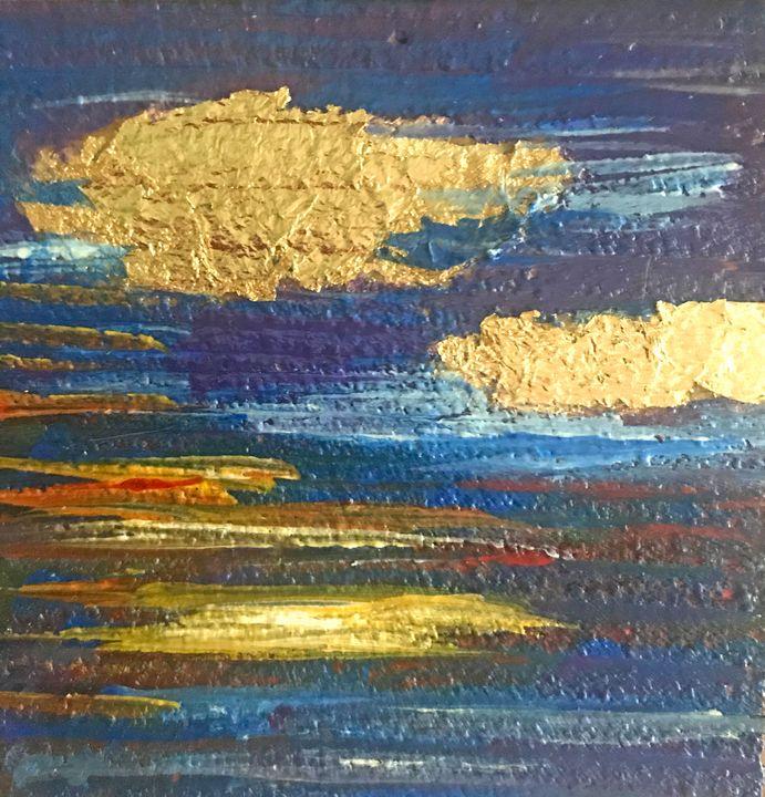 Gold Clouds - Betesda Art Gallery
