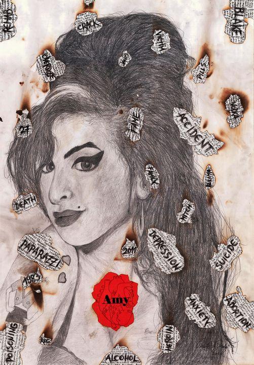 Amy's Heart - Art_By_Yedvay