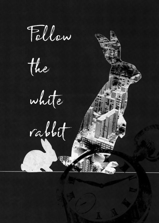 Follow the White Rabbit - Art_By_Yedvay