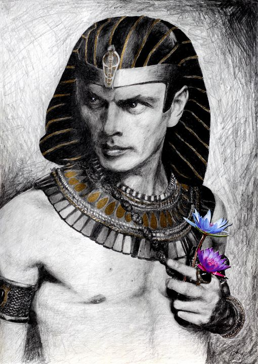 Yul Brynner - Art_By_Yedvay