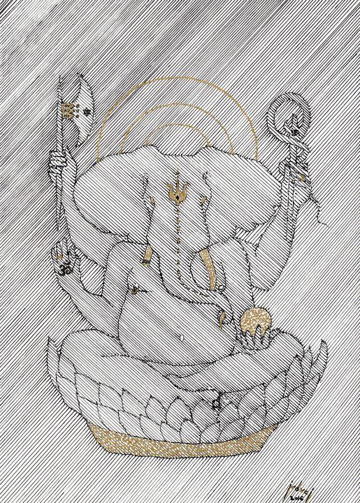 Ganesha - Art_By_Yedvay